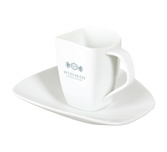 Swing Lunch Set Royal White 250 ml. bedrukken