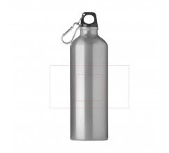 AluMaxi 750 ml aluminium waterfles bedrukken